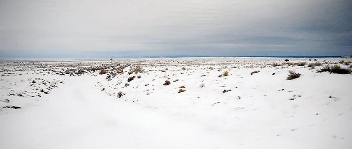 Burnside Road on the Navajo Reservation. Courtesy Navajo Times.